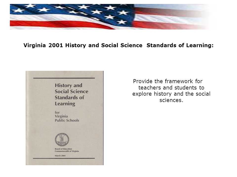 Virginia 2001 History and Social Science Standards of Learning:
