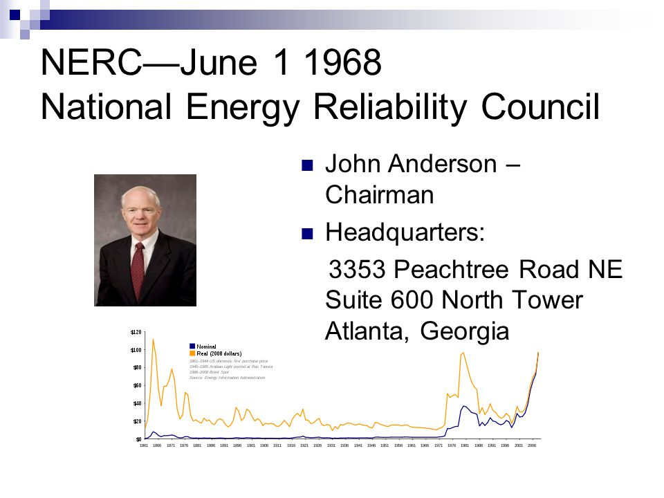 NERC—June 1 1968 National Energy Reliability Council