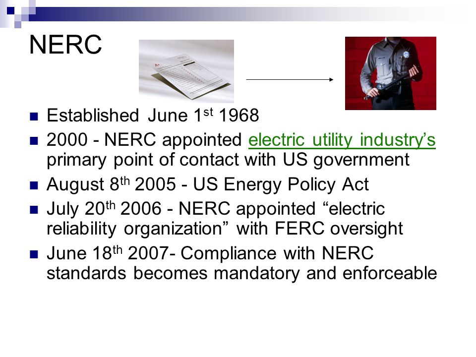 NERC Established June 1st 1968
