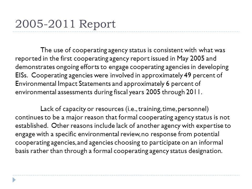 2005-2011 Report
