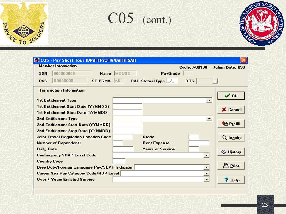 C05 (cont.)