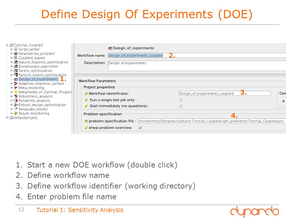 Define Design Of Experiments (DOE)
