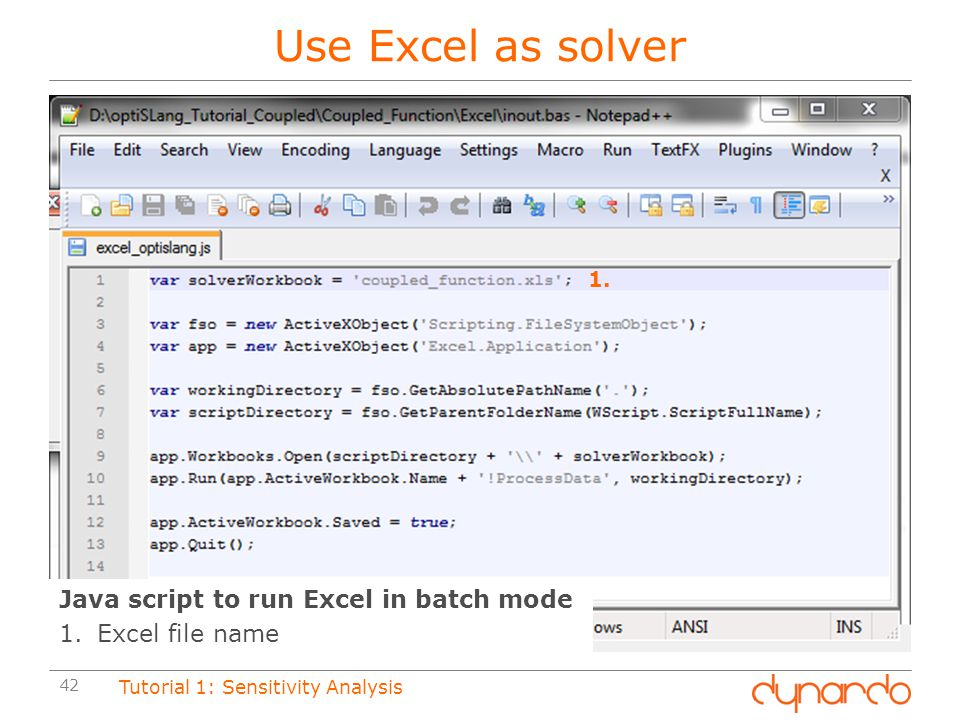 Use Excel as solver Java script to run Excel in batch mode