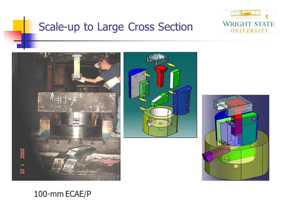 Scale-up to Large Cross Section
