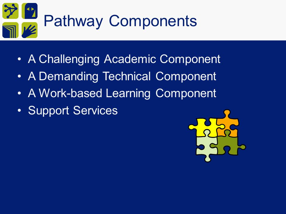 Pathway Components A Challenging Academic Component