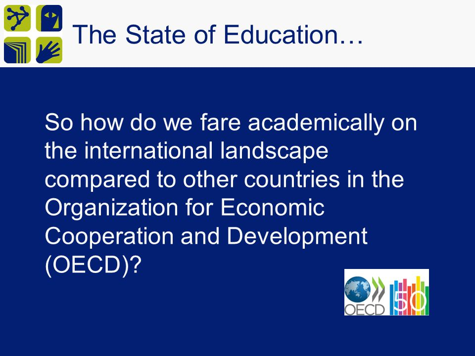 The State of Education…