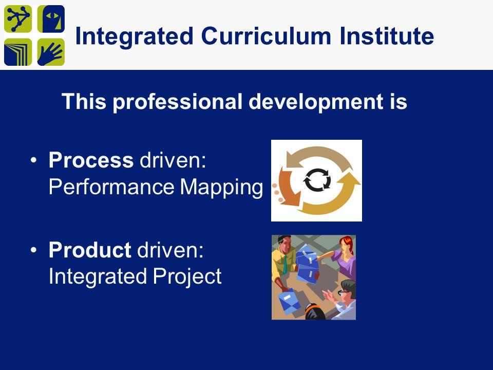 Integrated Curriculum Institute