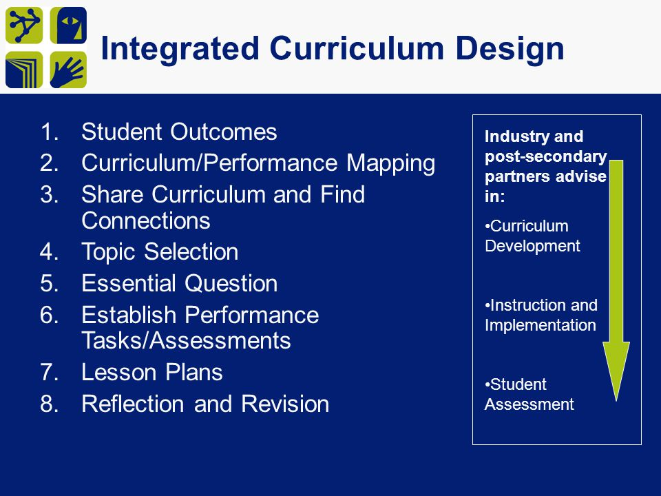 Integrated Curriculum Design
