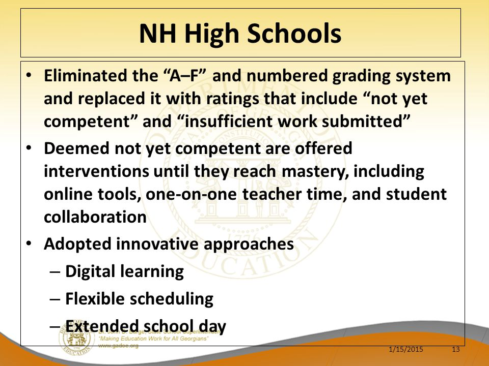 NH High Schools