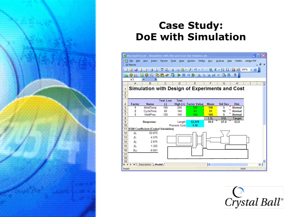 Case Study: DoE with Simulation