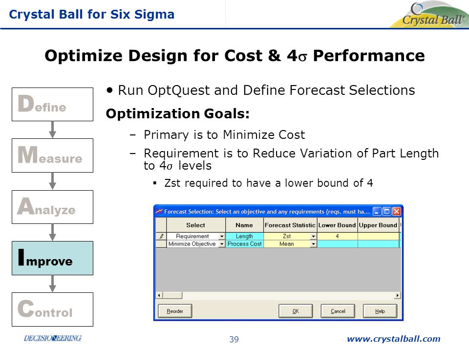 Optimize Design for Cost & 4s Performance