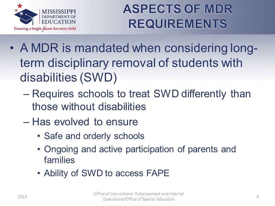 ASPECTS OF MDR REQUIREMENTS