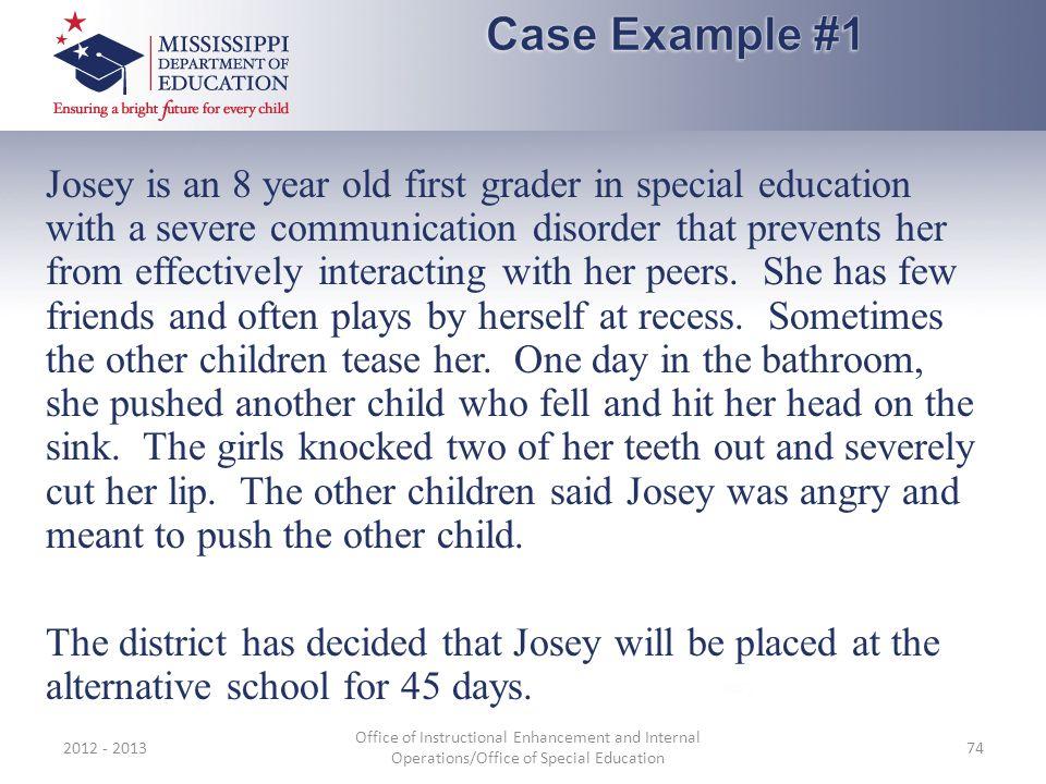 Case Example #1