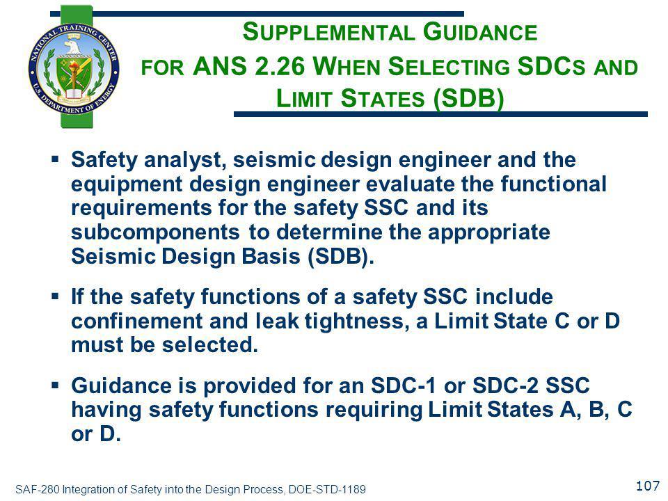 Supplemental Guidance for ANS 2