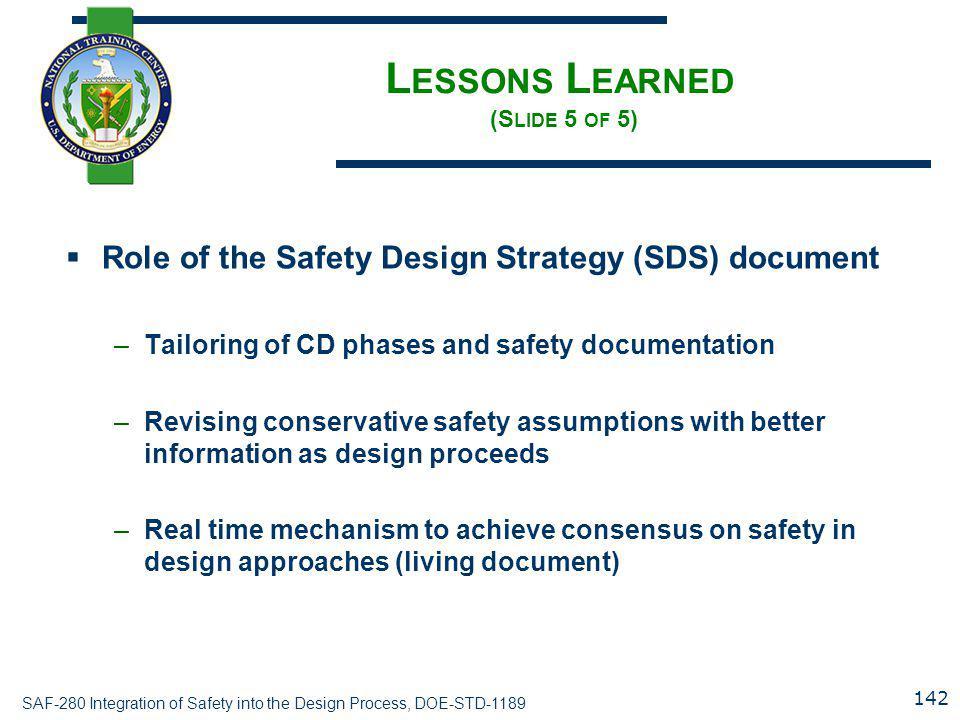 Lessons Learned (Slide 5 of 5)
