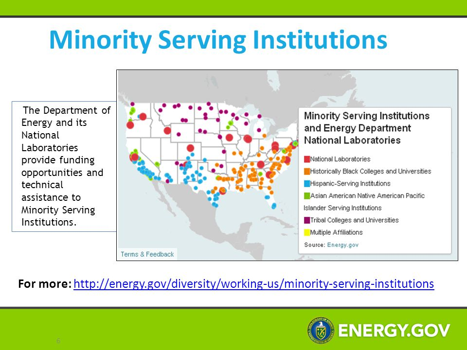 Minority Serving Institutions