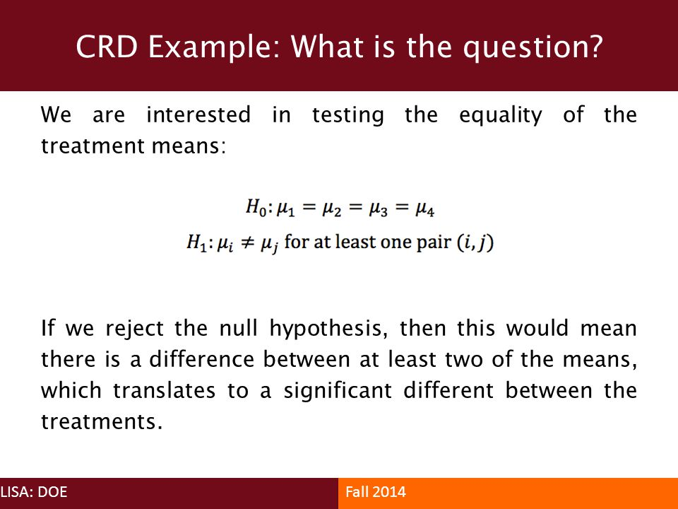 CRD Example: What is the question