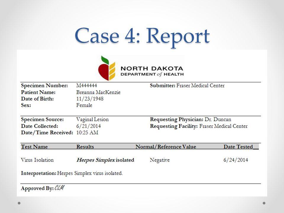 Case 4: Report