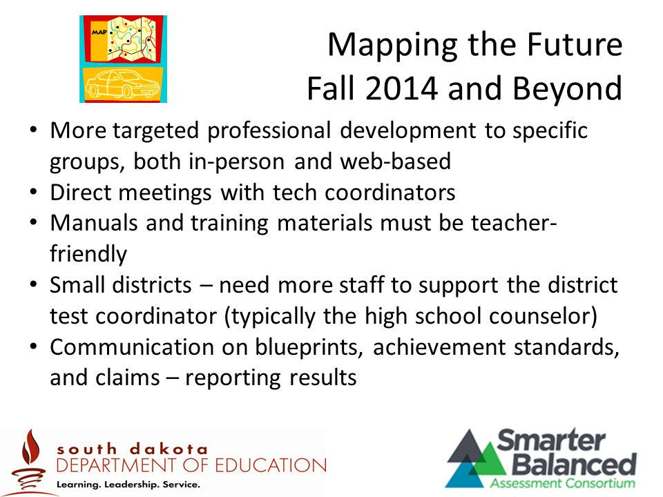 Mapping the Future Fall 2014 and Beyond