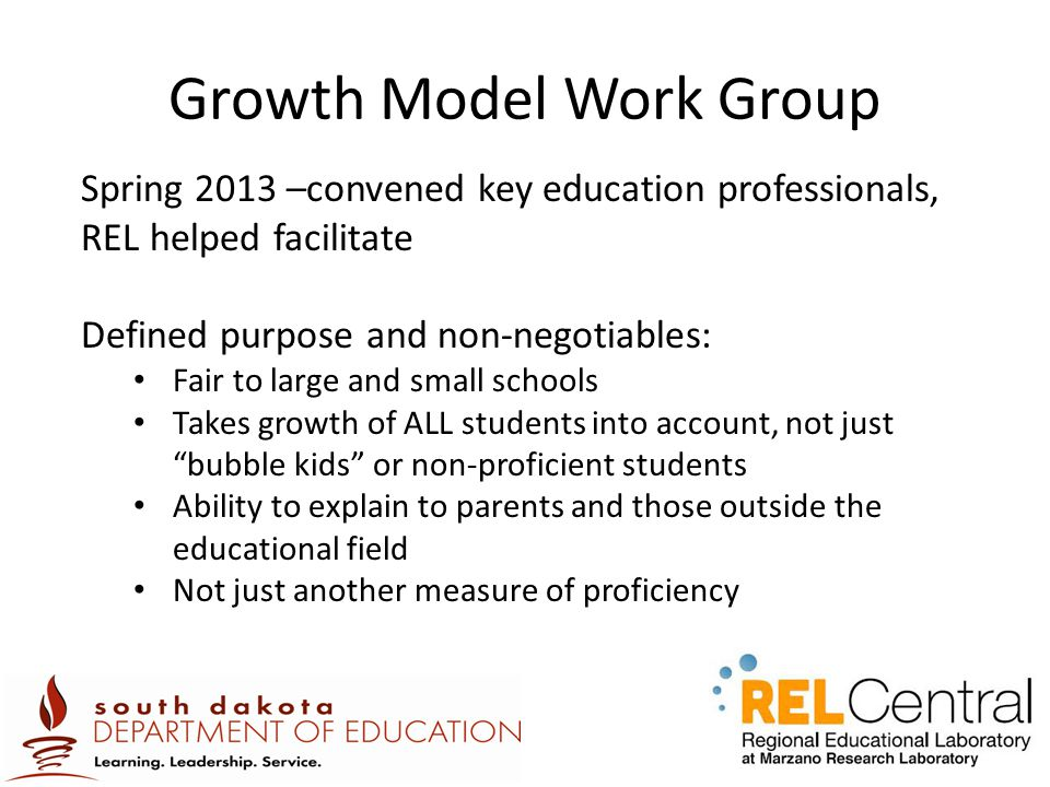 Growth Model Work Group