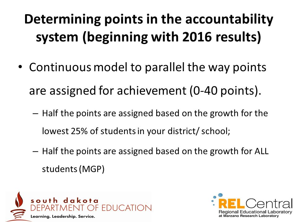 Determining points in the accountability system (beginning with 2016 results)