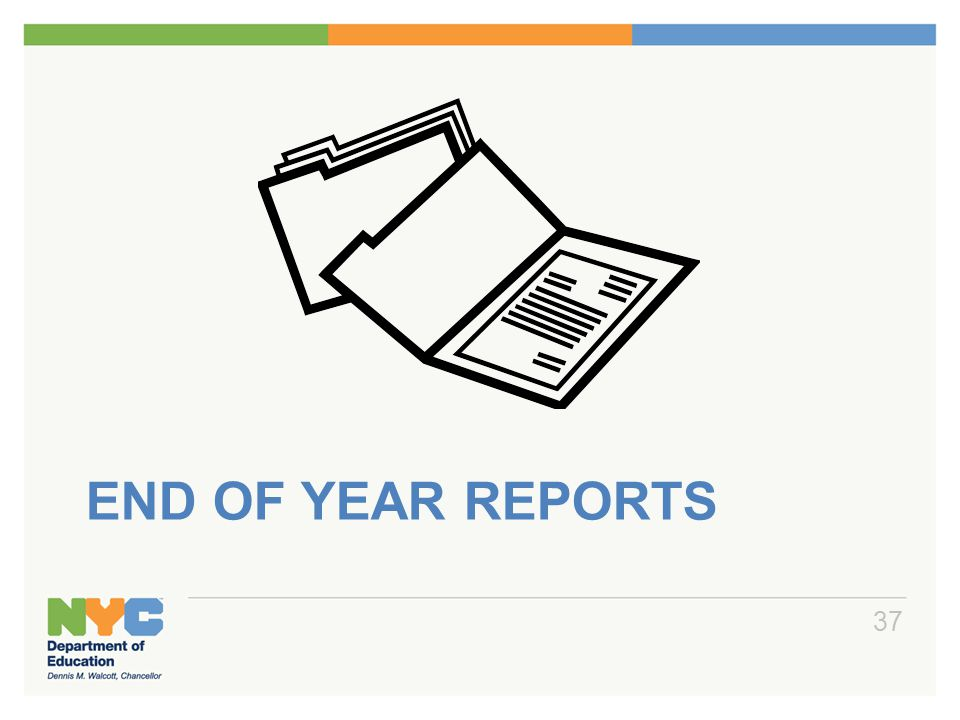 End of Year Reports Print List Notice Report – PLNT