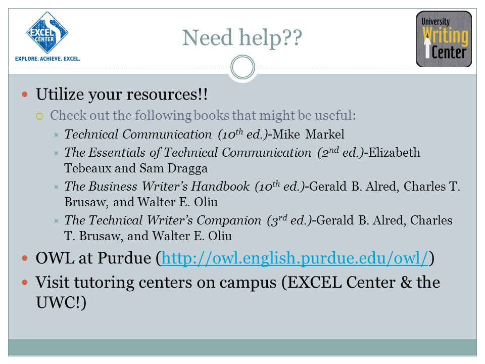 Need help Utilize your resources!!