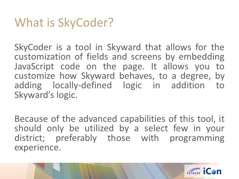 What is SkyCoder