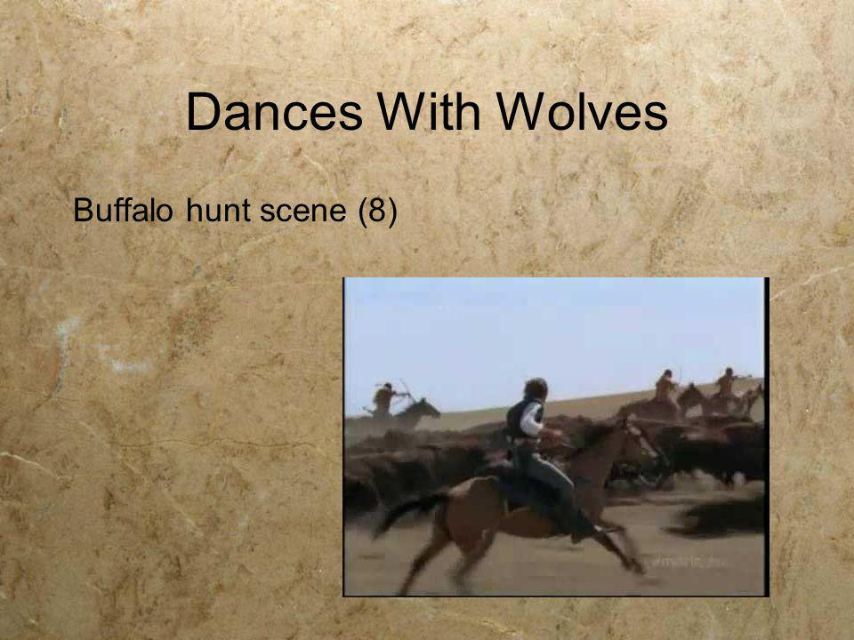 Dances With Wolves Buffalo hunt scene (8)
