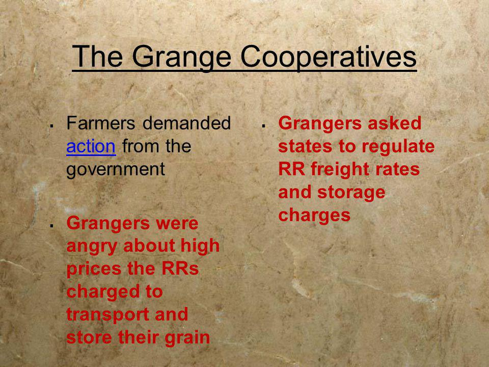 The Grange Cooperatives