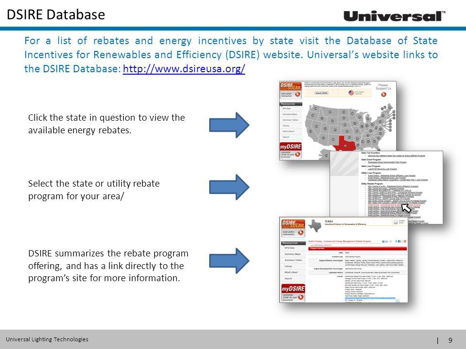 DSIRE Database