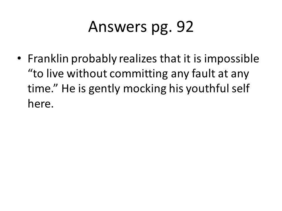 Answers pg. 92