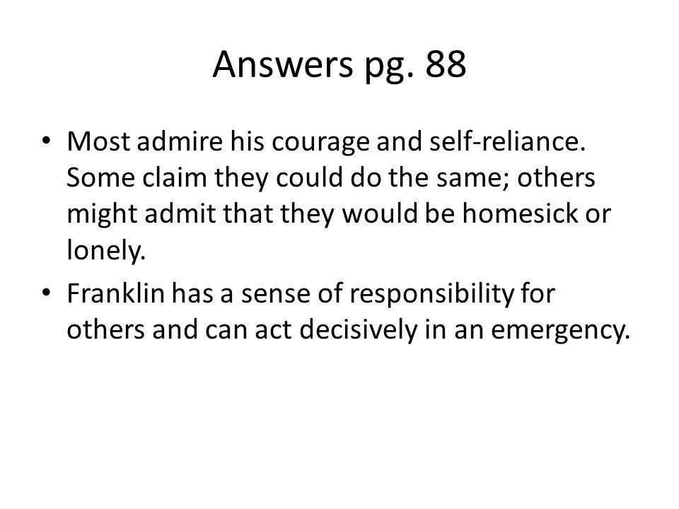 Answers pg. 88