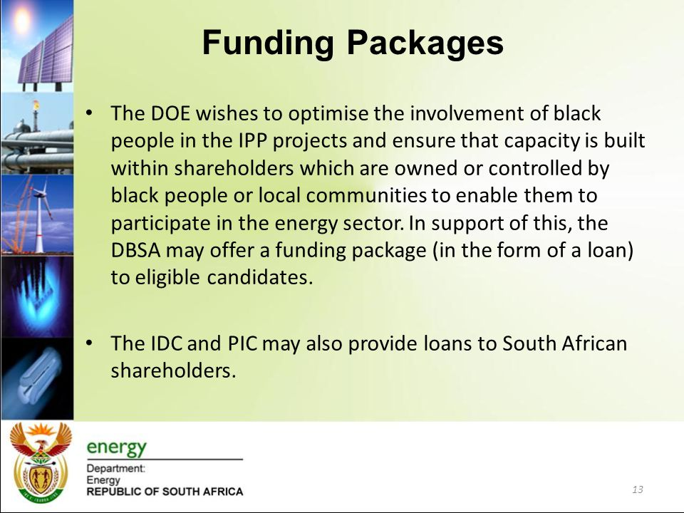 Funding Packages