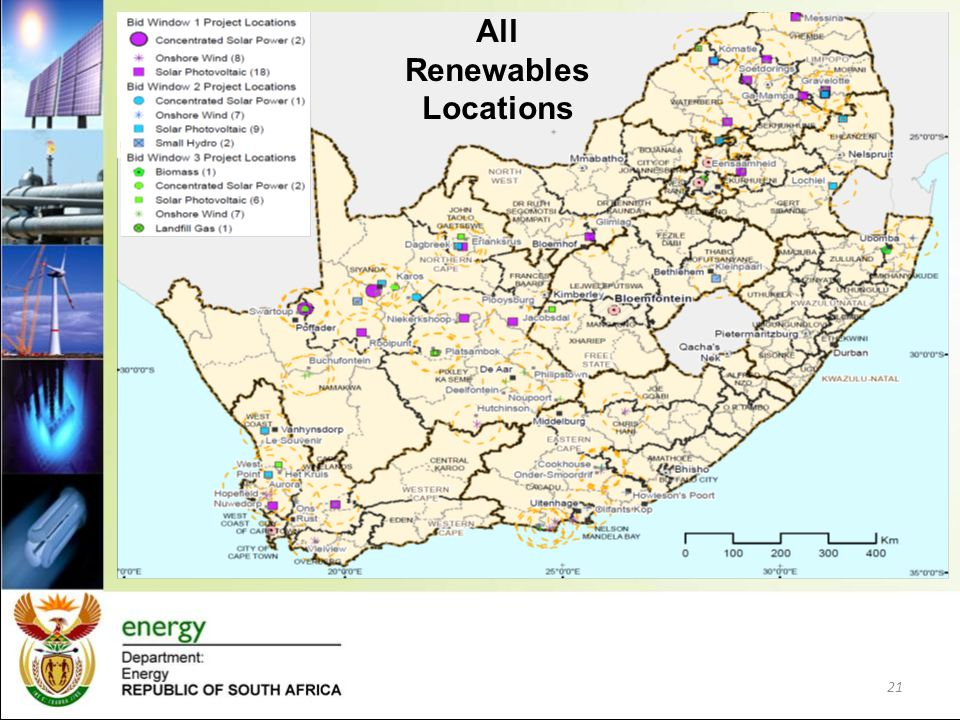 All Renewables Locations