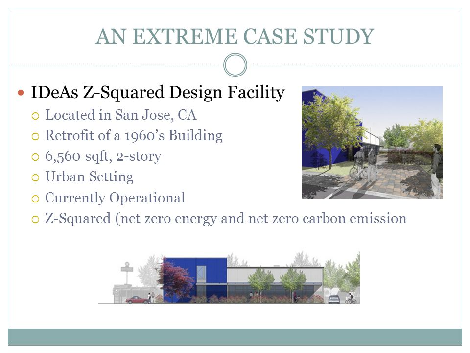 AN EXTREME CASE STUDY IDeAs Z-Squared Design Facility