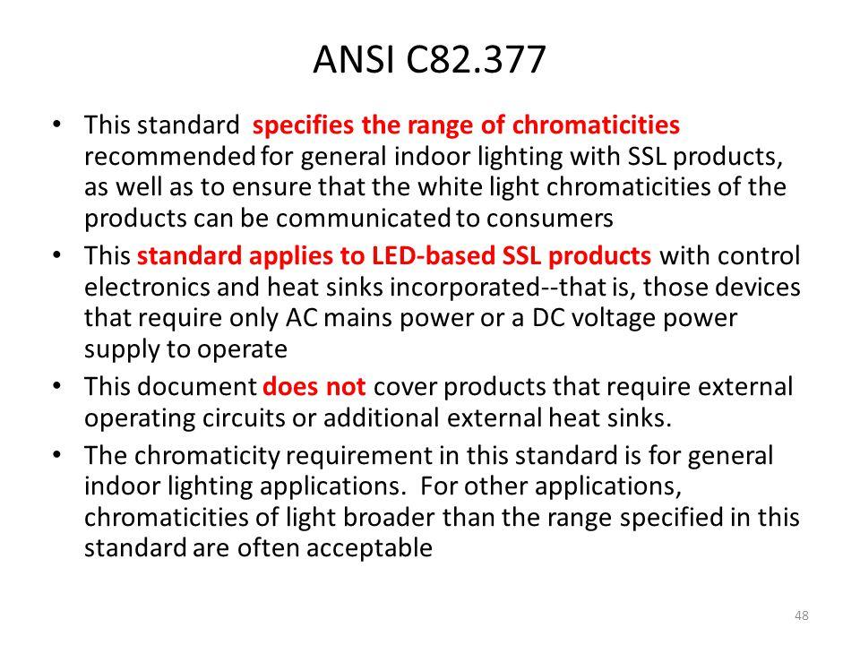 ANSI C82.377