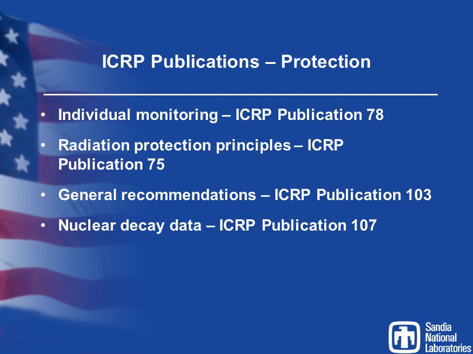 ICRP Publications – Protection