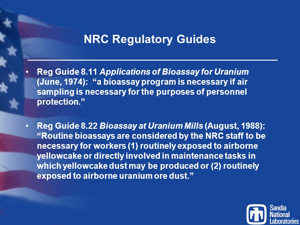 NRC Regulatory Guides