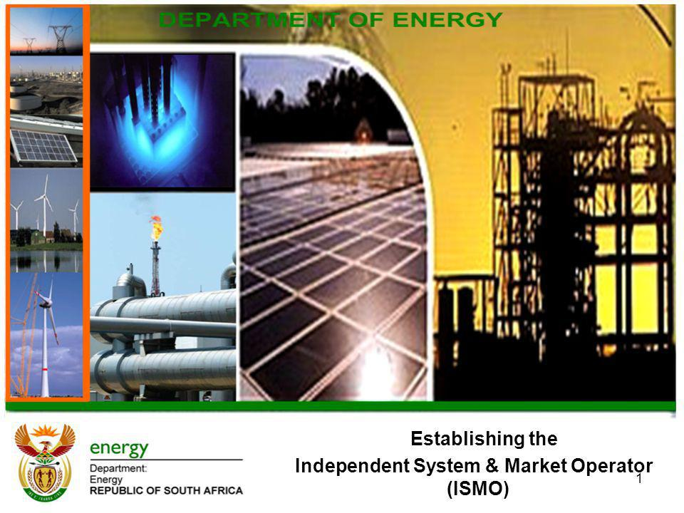 Independent System & Market Operator (ISMO)