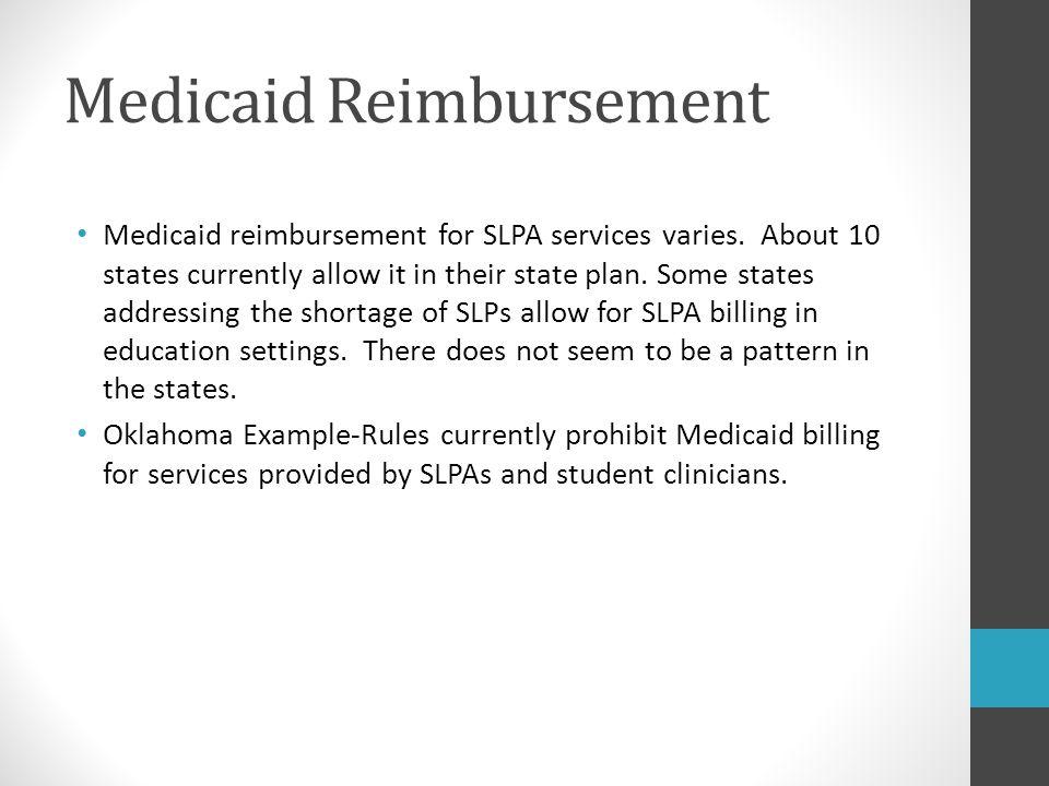 Medicaid Reimbursement