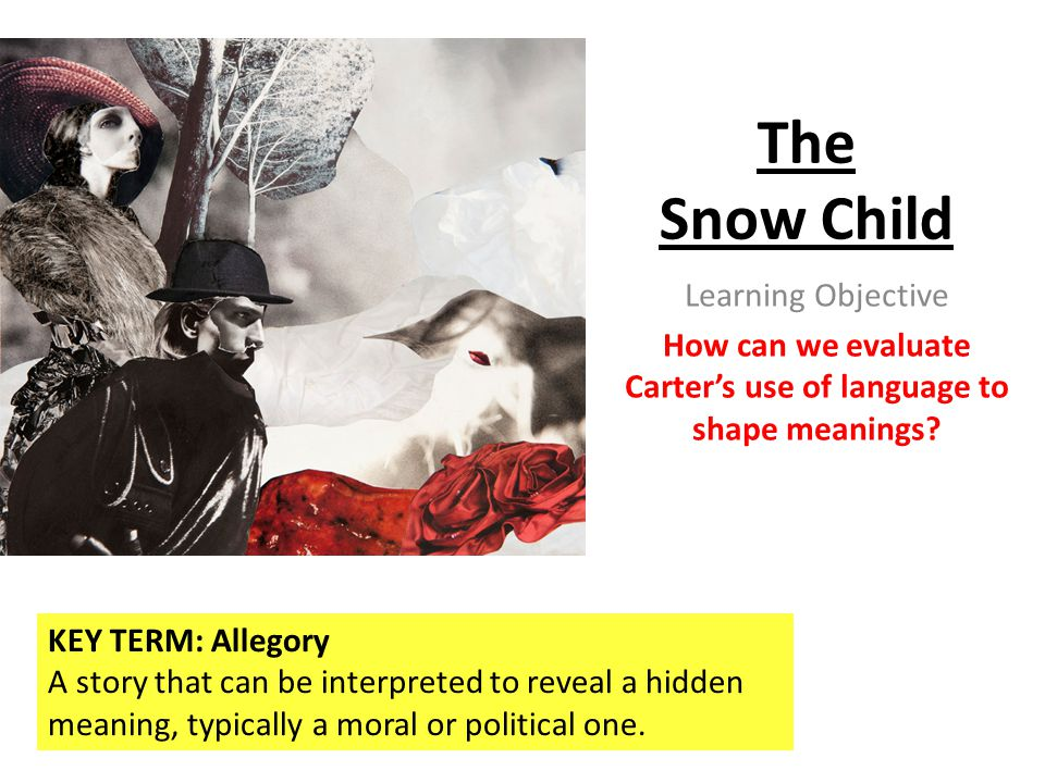 How can we evaluate Carter's use of language to shape meanings