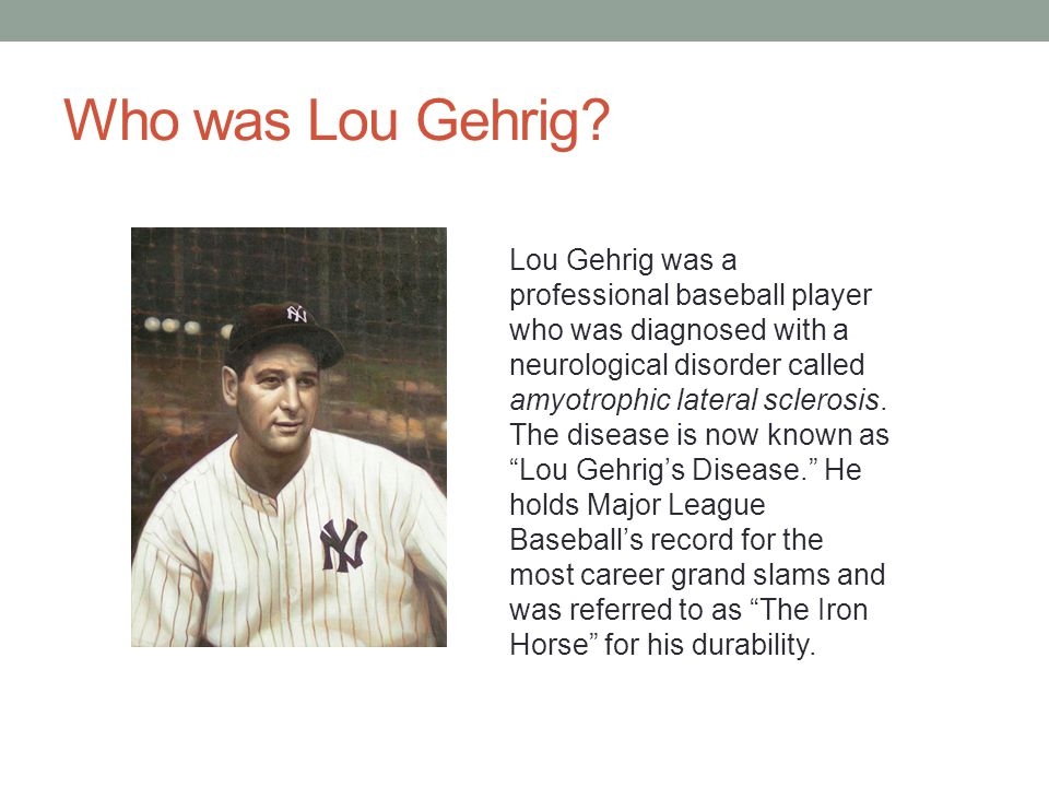 Who was Lou Gehrig