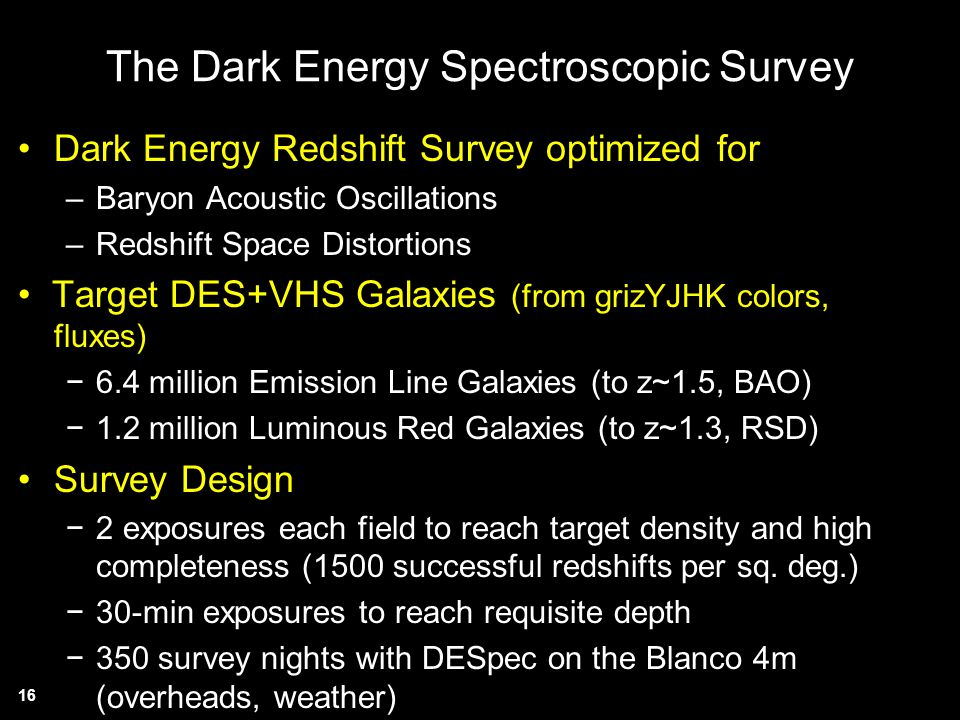 The Dark Energy Spectroscopic Survey