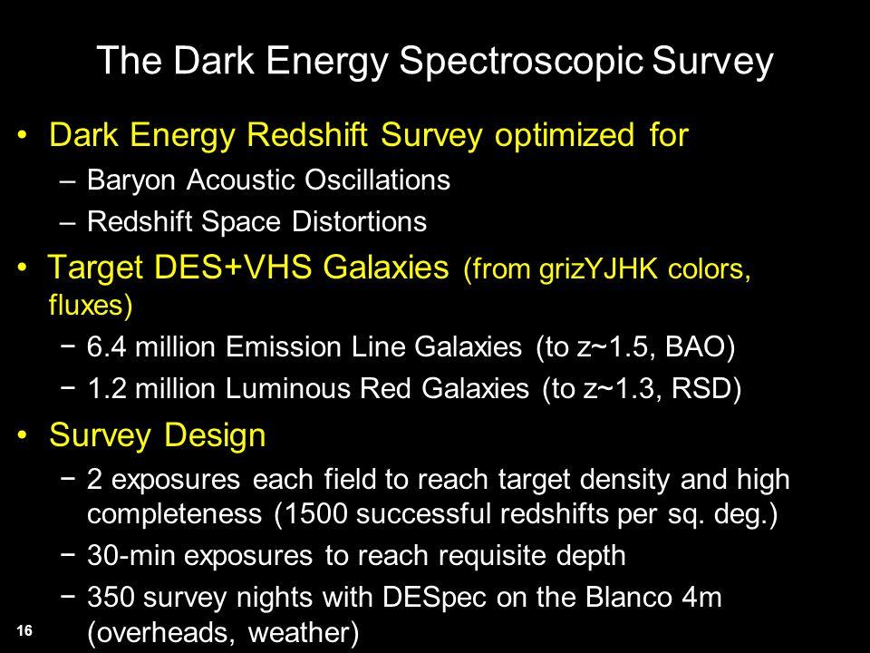 The Dark Energy Spectroscopic Survey