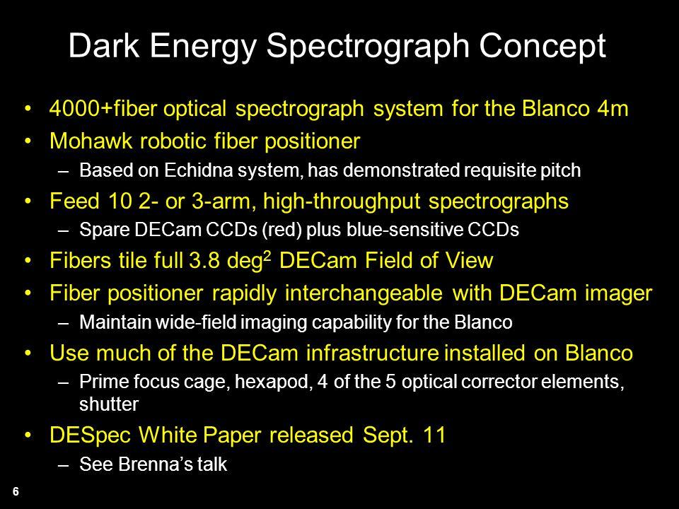 Dark Energy Spectrograph Concept