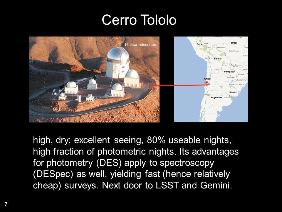 Cerro Tololo Blanco Telescope.