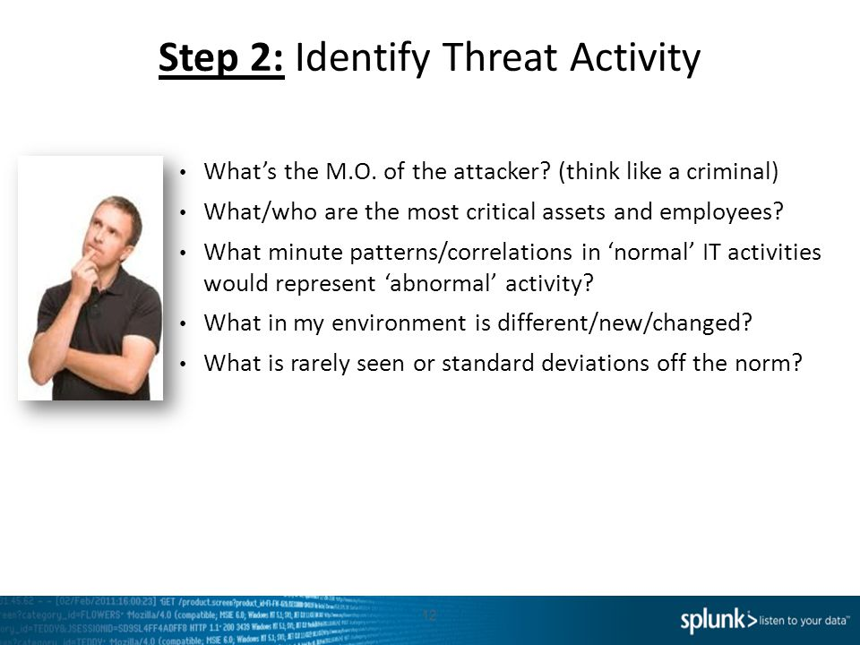 Step 2: Identify Threat Activity