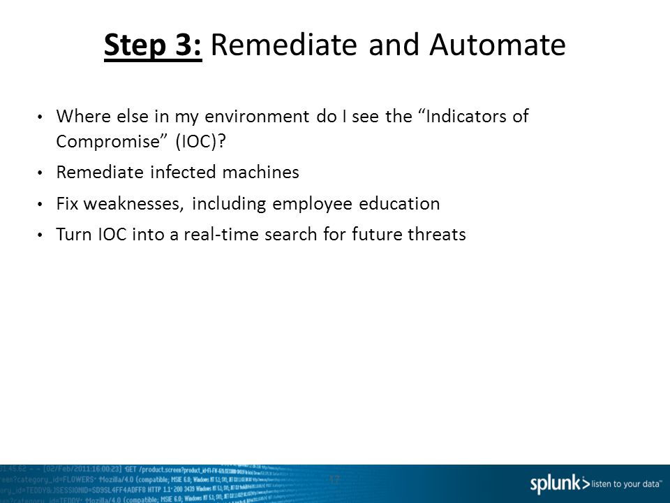 Step 3: Remediate and Automate