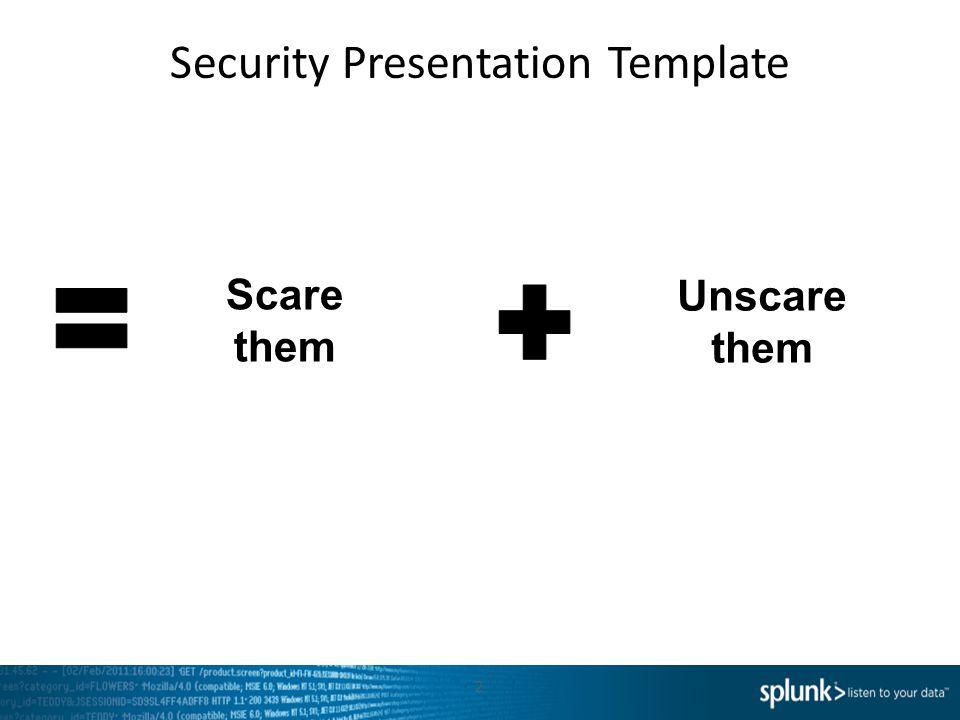 Security Presentation Template